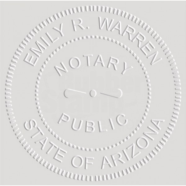 Notary Seal Embosser for Arizona State - Includes Gold ...