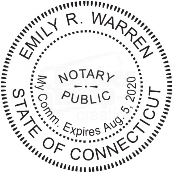 Includes Gold Burst Seal Labels Notary Seal Round Embosser for South Carolina State