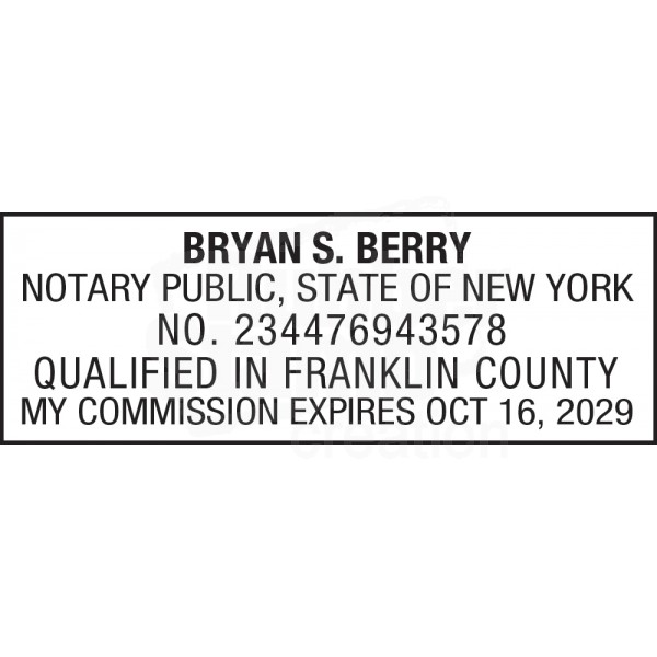 Notary Stamp For New York State Loading Zoom