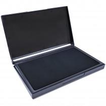 MaxMark Large Black Stamp Pad - 4-1/4 by 7-1/4 - Premium Quality Felt Pad