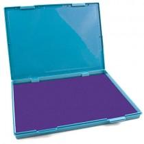 """MaxMark Extra Large Purple Ink Stamp Pad - 8.25"""" x 11.5"""" - Industrial Felt Pad"""