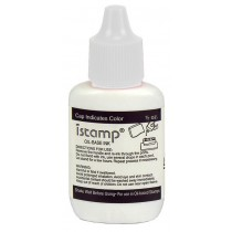 Ink for Pre-Inked Stamps, Light Green, .5oz.