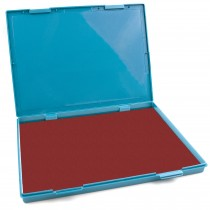 """Extra Large CRIMSON RED Ink Stamp Pad - 8.25"""" x 11.5"""" - Industrial Felt Pad"""