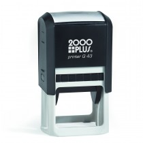 2000 Plus Printer Q 43 Self Inking Stamp