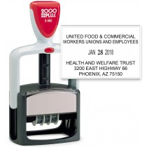 2000 Plus S 660 Office Line Custom Date Stamp