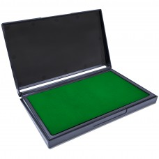 MaxMark Large Green Stamp Pad - 4-1/4 by 7-1/4 - Premium Quality Felt Pad