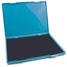 "MaxMark Extra Large Black Ink Stamp Pad - 8.25"" x 11.5"" - Industrial Felt Pad"