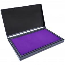 MaxMark Large Purple Stamp Pad - 4-1/4 by 7-1/4 - Premium Quality Felt Pad