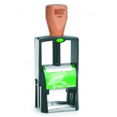 2000 plus Green Line 2300 Self Inking Stamp
