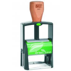 2000 plus Green Line 2600 Self Inking Stamp