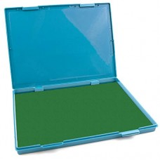 "MaxMark Extra Large Green Ink Stamp Pad - 8.25"" x 11.5"" - Industrial Felt Pad"