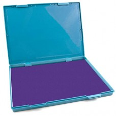 "MaxMark Extra Large Purple Ink Stamp Pad - 8.25"" x 11.5"" - Industrial Felt Pad"