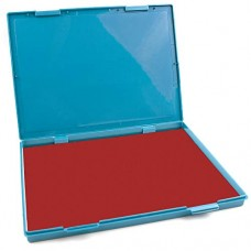 "MaxMark Extra Large Red Ink Stamp Pad - 8.25"" x 11.5"" - Industrial Felt Pad"