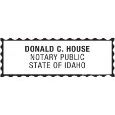 Notary Stamp for Idaho State