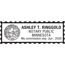 Notary Stamp for Minnesota State