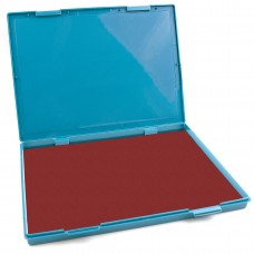 "Extra Large Crimson Red Ink Stamp Pad - 8.25"" x 11.5"" - Industrial Felt Pad"