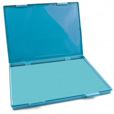 "Extra Large Light Blue Ink Stamp Pad - 8.25"" x 11.5"" - Industrial Felt Pad"