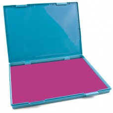 "Extra Large Pink Ink Stamp Pad - 8.25"" x 11.5"" - Industrial Felt Pad"