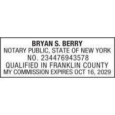Notary Stamp For New York State Notary Stamps Supplies