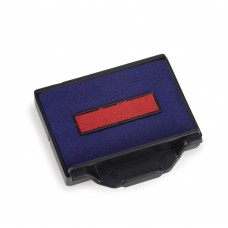 Replacement Pad for Trodat 5200 Self Inking Stamp - Blue/Red Ink Color