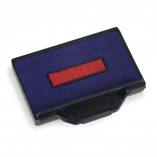 Replacement Pad for Trodat 5203 Self Inking Stamp - Blue/Red Ink Color