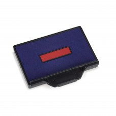 Replacement Pad for Trodat 5206 Self Inking Stamp - Blue/Red Ink Color