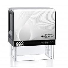 2000 Plus Printer 30 Self Inking Stamp