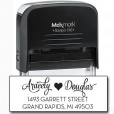 Return Address Stamp - Style RA205