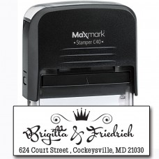 Return Address Stamp - Style RA210
