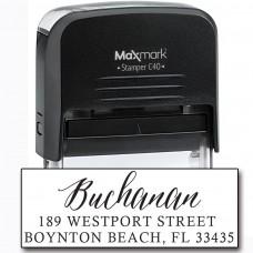Return Address Stamp - Style RA224