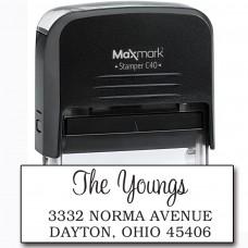 Return Address Stamp - Style RA228