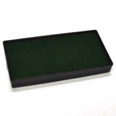 Replacement Pad for 2000 PLUS Printer 40 Self Inking Stamp - Green Ink Color