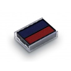 Replacement Pad for Trodat 4850 Self Inking Stamp - Blue/Red Ink Color