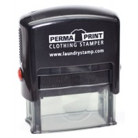 PermaPRINT Clothing Stamper with Black Ink