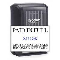 Trodat 4727 Custom Date Stamp