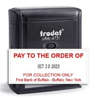Trodat 4731 Custom Date Stamp