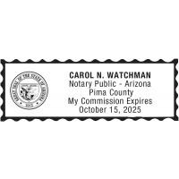 Notary Stamp for Arizona State