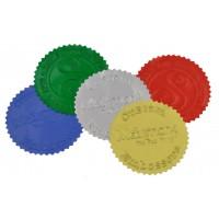 Round Monogram Address Seal Embosser - Style EM019
