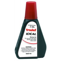 Ink for Self Inking Stamps, Red, 2oz.