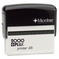 2000 Plus Printer 45 Self Inking Stamp